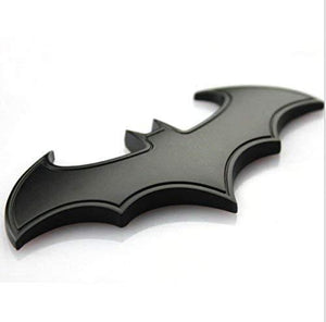 batman logo in black colour