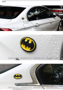 install batman logo in car