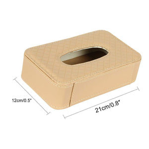 Tissue box holder size