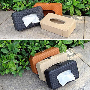 Tissue box colours available for car