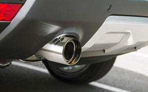Installed Bent Muffler for toyota innova crysta