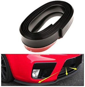 Red Car front bumper with black samurai Roll