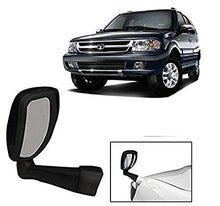 Load image into Gallery viewer, Bonnet fender mirror in black colour for all cars