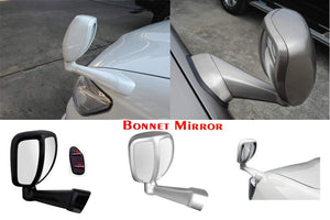Bonnet mirror for all cars