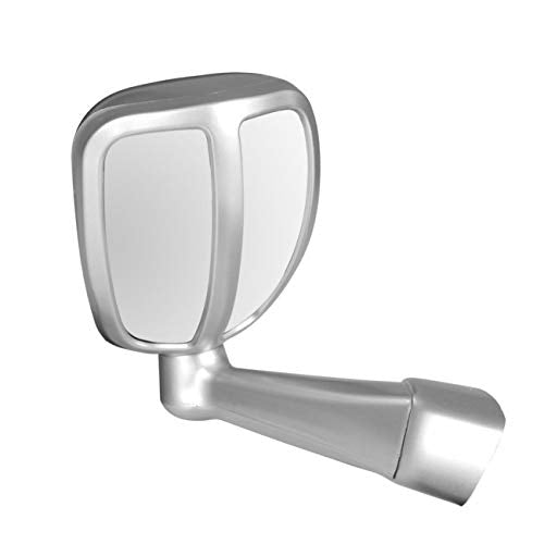 Bonnet fender mirror for all cars in silver colour