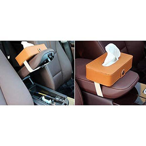 Where you can install headrest tissue box holder in car