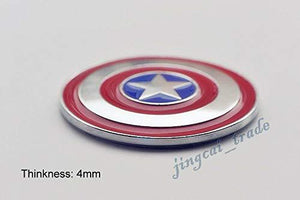 Captain america sheild logo thickness :4mm