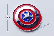Load image into Gallery viewer, Captain america sheild logo size