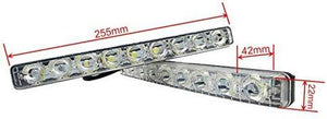 Size DRL 9 Led Light for all car