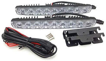 Load image into Gallery viewer, DRL 9 Led Light with wire & Clip for all cars