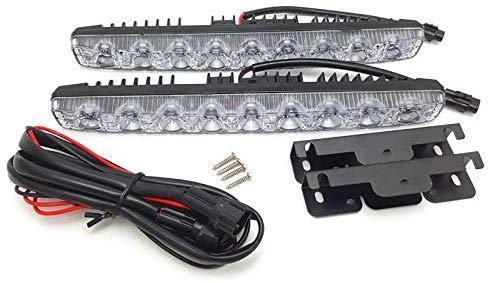 DRL 9 Led Light with wire & Clip for all cars