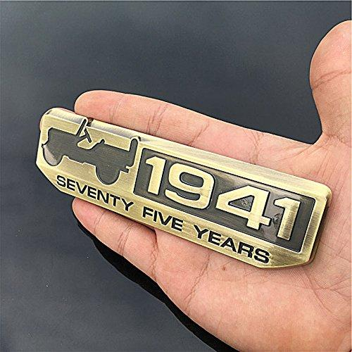 1941 logo for All Jeep in gold colour