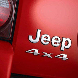 Install 4x4 logo on car