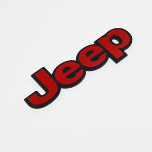 Jeep eep Performance Emblem in 3D
