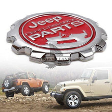 Load image into Gallery viewer, Performance Round Logo for car with two jeep car