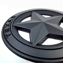 Load image into Gallery viewer, star edition logo for car in black colour