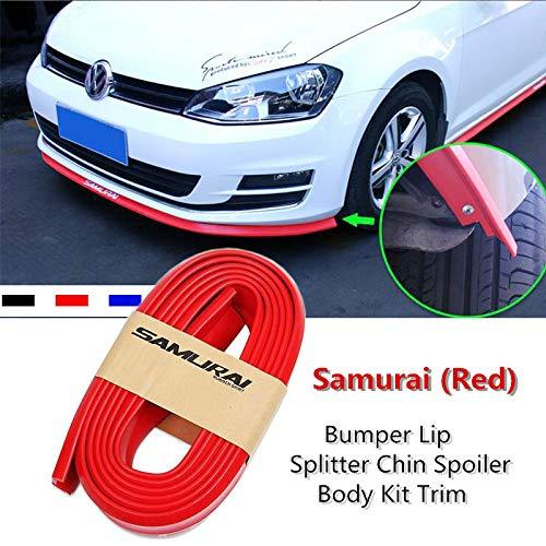 Bumper Lip Splitter Chin Spoiler Body kit trim in Red Colour