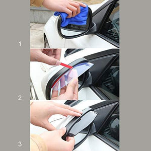 How to Install side mirror blade for car