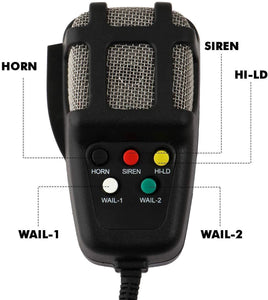Car siren mic with instructions