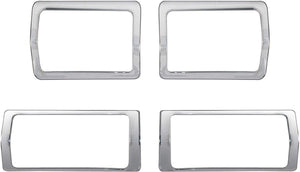 4 Pcs Chrome interior for Mahindra Xuv500