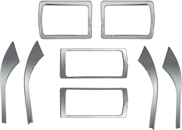 8 Pcs Chrome interior for Mahindra Xuv500