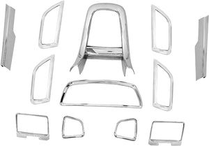 12 Pcs Chrome Interior for Maruti suzuki swift