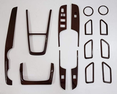 Wooden Chrome Interior Accessories for swift car