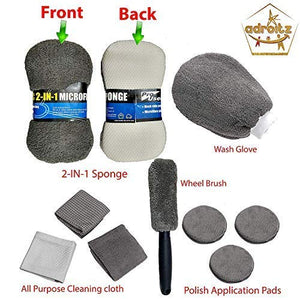 Cleaning kit with Microfiber Cloth for all cars