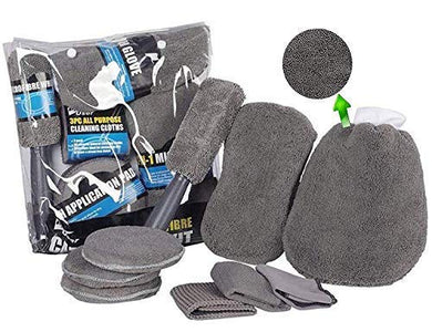 grey cleaning kit for all cars