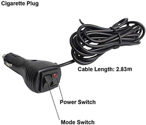 Cigarette Plug with Power sitch & Wire
