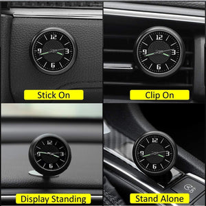 Multiple installation for car dashboard clock