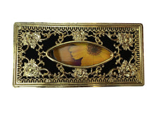 Load image into Gallery viewer, Royal Golden-Black tissue box