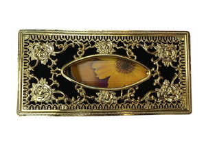 Royal Golden-Black tissue box