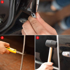 How to install beading in car