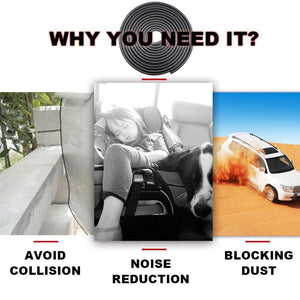 Why you need it beacuse avoid collision, noise reduction and blocking dust