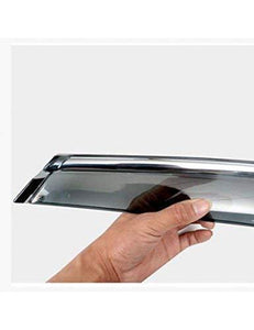Door visor for car