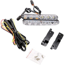 Load image into Gallery viewer, DRL 6Led Light with wire & Clip for all cars
