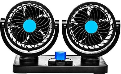 Double fan for car