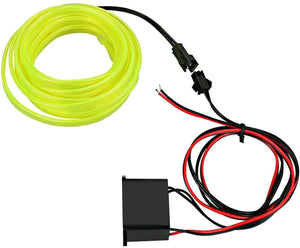 Green El Light with wire for All Cars