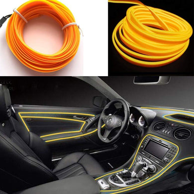 El Light for Car in yellow Colour