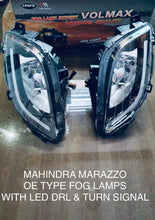 Load image into Gallery viewer, Mahindra Marazzo OE Type Fog Lamp with Led drl and turn signal