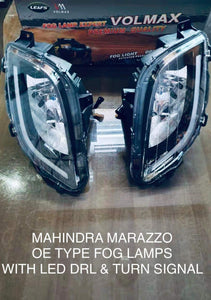 Mahindra Marazzo OE Type Fog Lamp with Led drl and turn signal