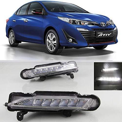Fog lamp for toyota yaris with car