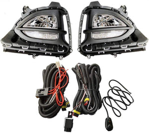 Fog Lamp with wire & Controller for Hyundai i20 Elite