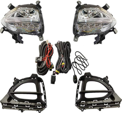Fog Lamp with wire for Hyundai i20 Elite