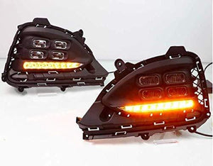Set of 2pcs of Fog Lamp for Hyundai i20 Elite