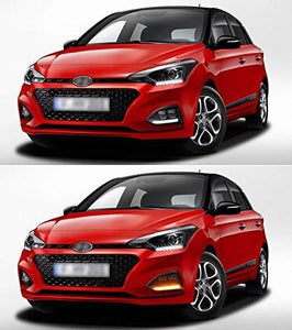 Pair of Hyundai i20 Elite in Red Colour