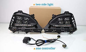 Set of 2pcs with controller Fog Lamp for Hyundai i20 Elite