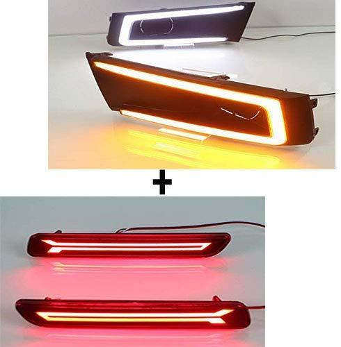 Fog Lamp Light with Rear Bumper reflector for maruti suzuki Vitara brezza