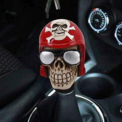 Glasses Skull gear knob for all car